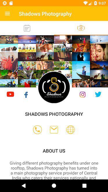 Shadows Photography App